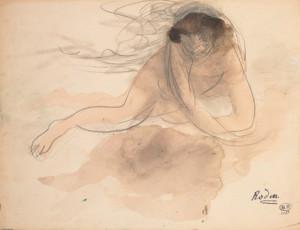 aquarelles de Rodin