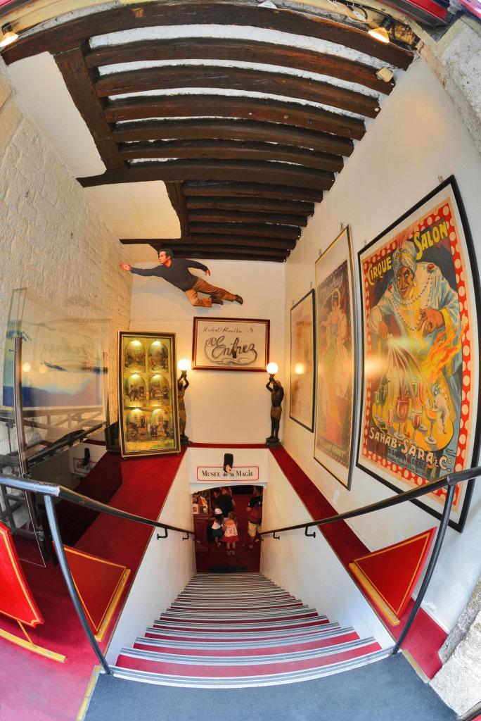 Entrée Musée de la Magie