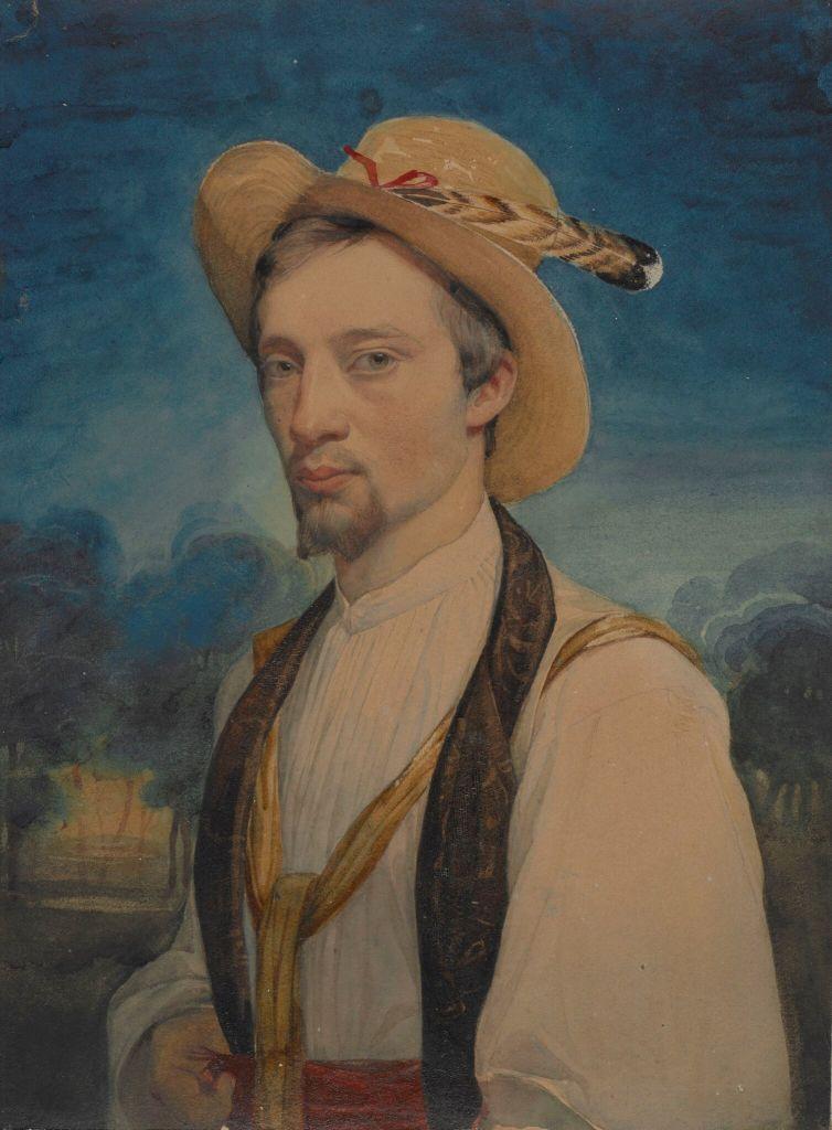 Charles Gleyre - autoportrait