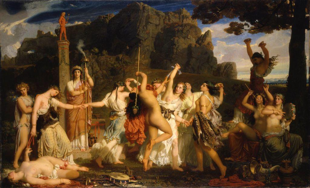 Charles Gleyre - Danse des Bacchantes