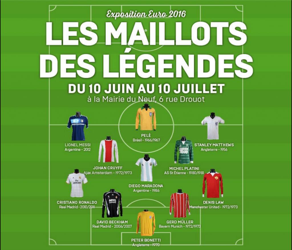 Maillots de legendes