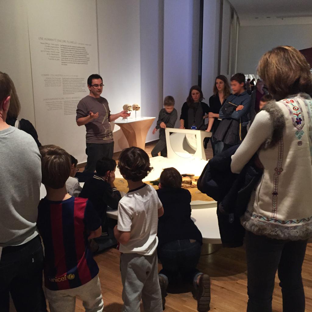 Galerie de l'Homme - partie 2 - Médiation visite guidée jeunes