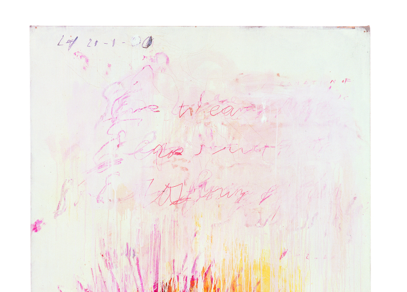 Coronation of sesostris part  III - Cy Twombly - Centre Pombidou