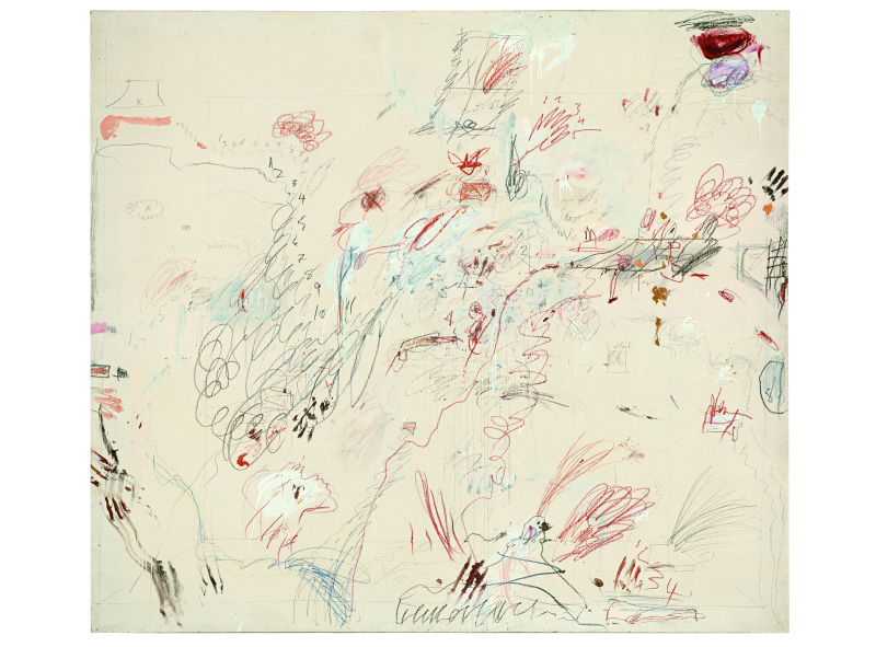 Dutch Interior - Cy Twombly - Centre Pombidou