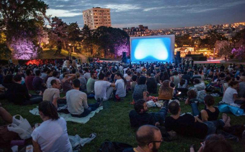 festival cinema silhouette