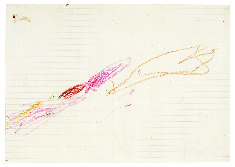 Grottaferrata, 1957 (I)  - Cy Twombly - Centre Pombidou