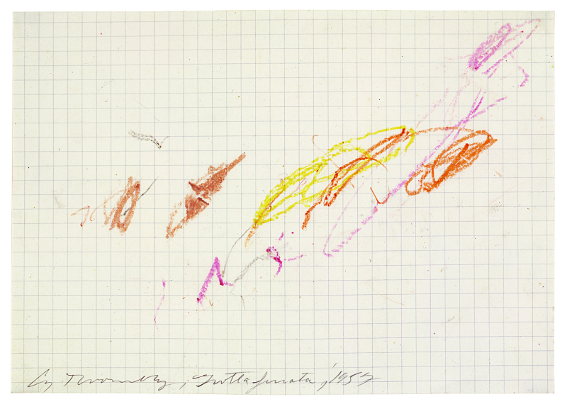 Grottaferrata, 1957 (II) - Cy Twombly - Centre Pombidou