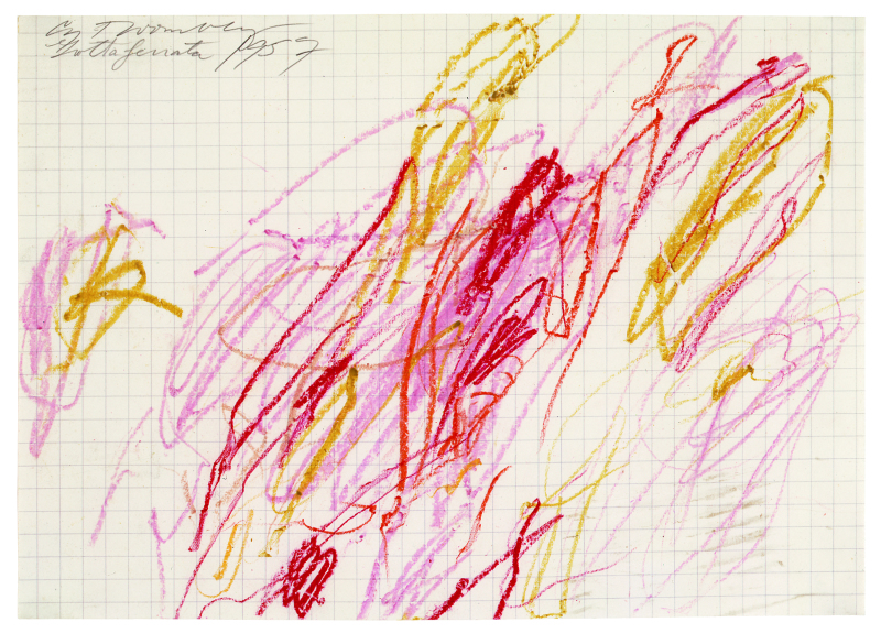 Grottaferrata, 1957 (III) - Cy Twombly - Centre Pombidou