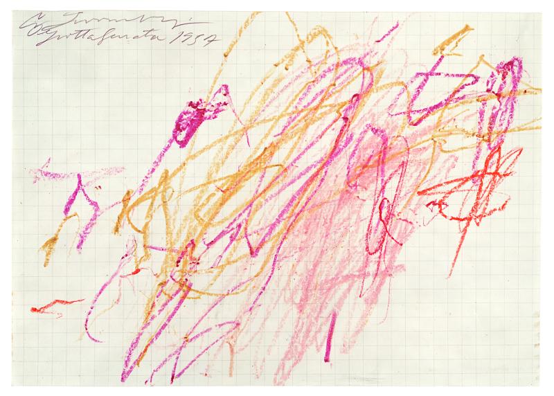 Grottaferrata, 1957 (V ) - Cy Twombly - Centre Pombidou