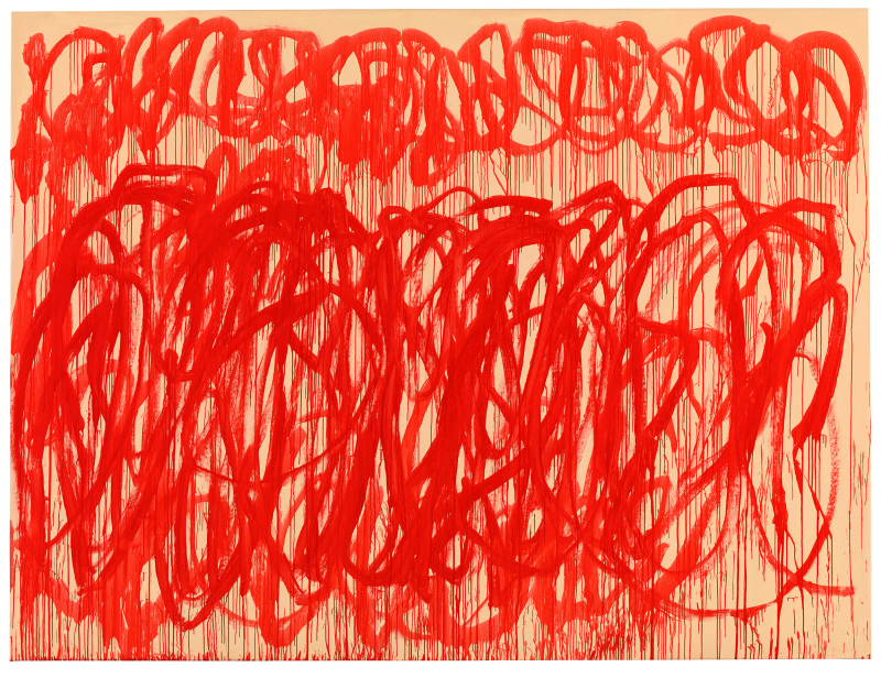 Untitled (Bacchus) - Cy Twombly - Centre Pompidou