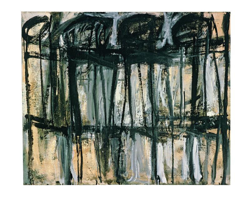 Sans titre Lexington - Cy Twombly - Centre Pompidou