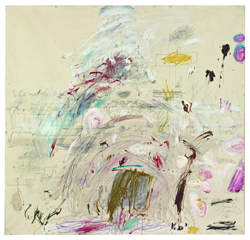 School of Athen  - Cy Twombly - Centre Pompidou
