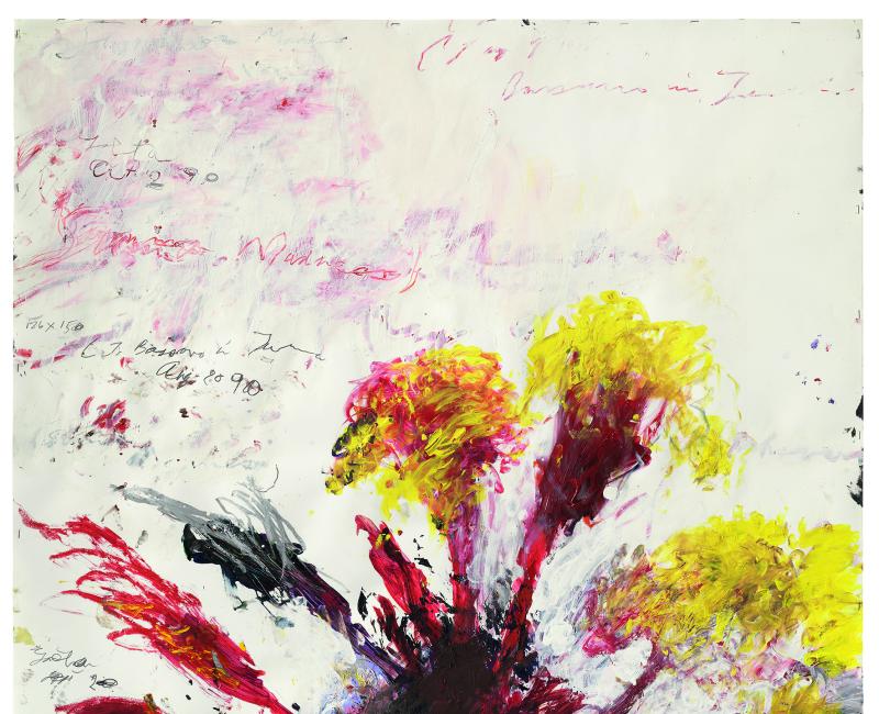 Summer Madness (Gaeta / Bassano)  - Cy Twombly - Centre Pompidou