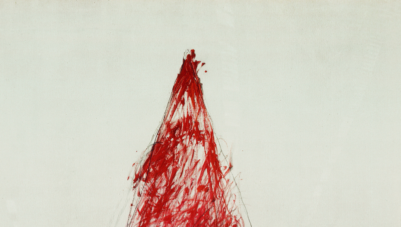 The Vengeance of Achilles  - Cy Twombly - Centre Pompidou