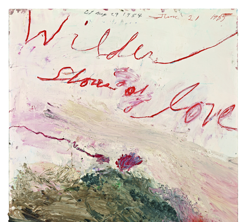 Wilder Shores of Love  - Cy Twombly - Centre Pompidou
