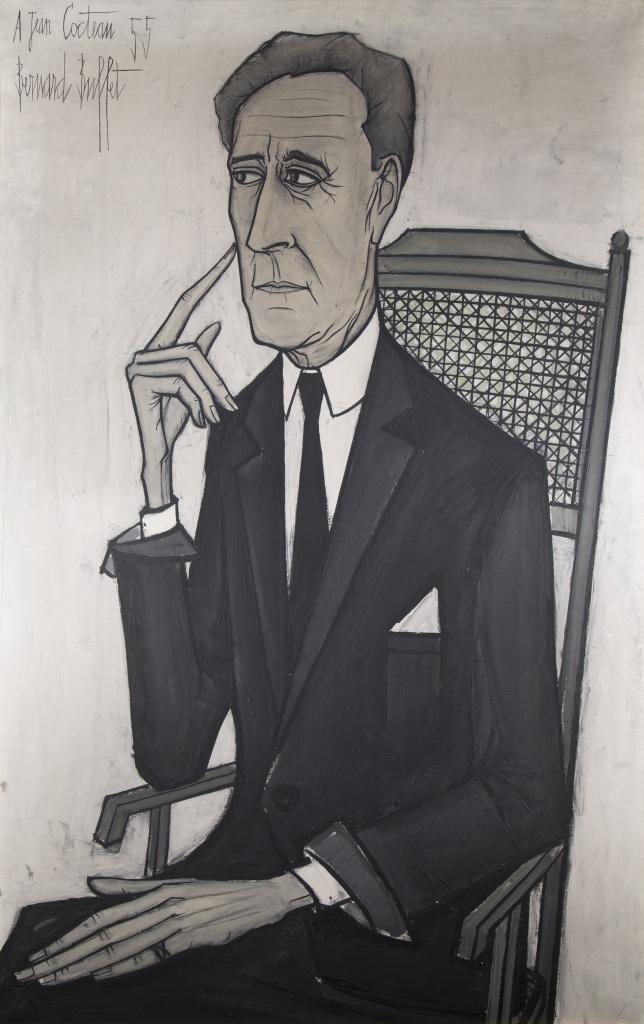 b-buffet-portrait-de-jean-cocteau-1955