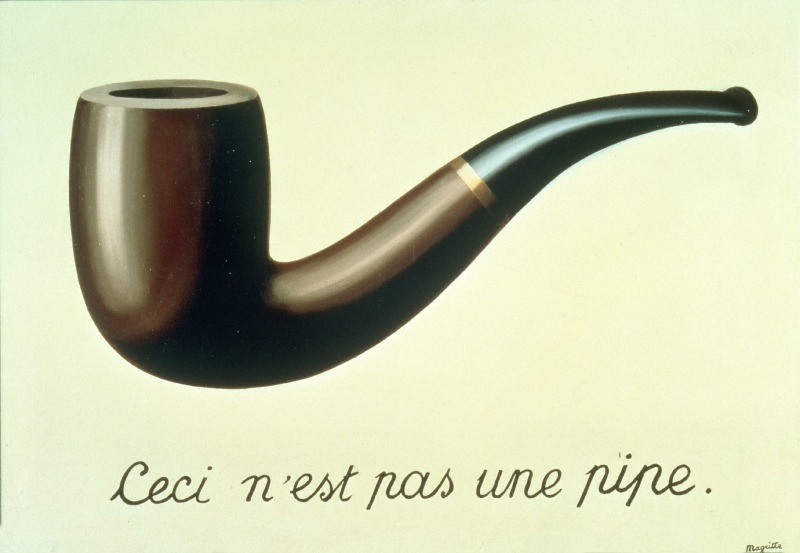 René Magritte, La trahison des images, 1929, © Photothèque R. Magritte / Banque d'Images, Adagp, Paris, 2016