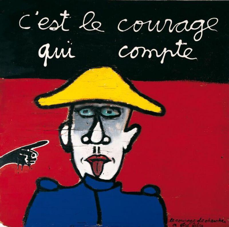 courage qui compte - Ben Vautier