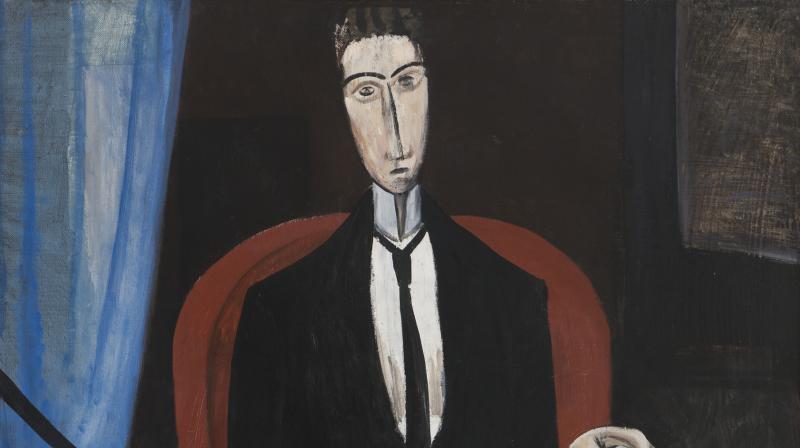 L'homme au Journal - Andre Derrain