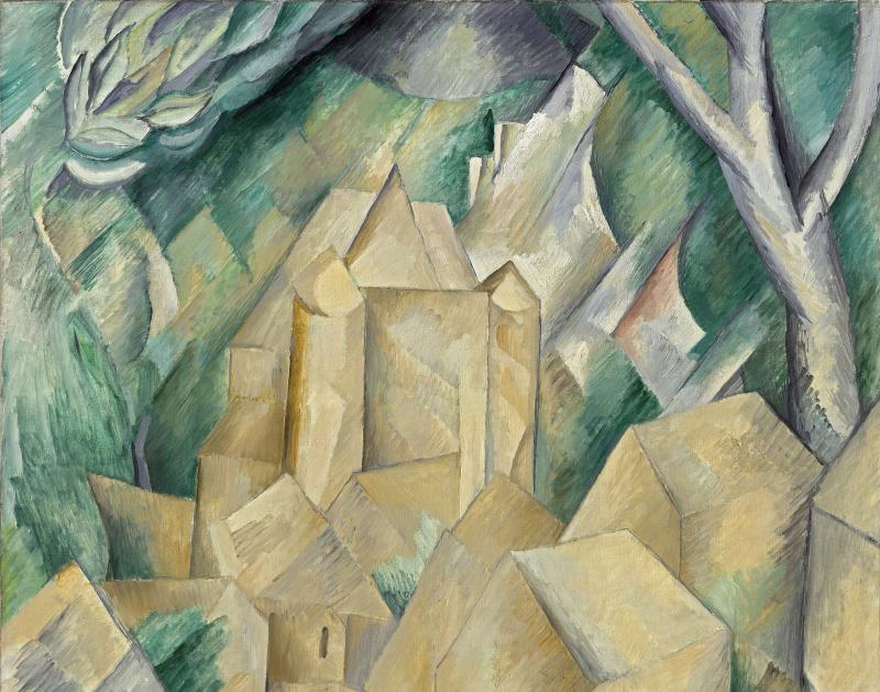 Le Chateau de la Roche Guyon - Georges Braque
