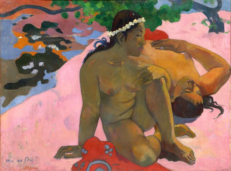 Paul Gauguin - Ahaoe