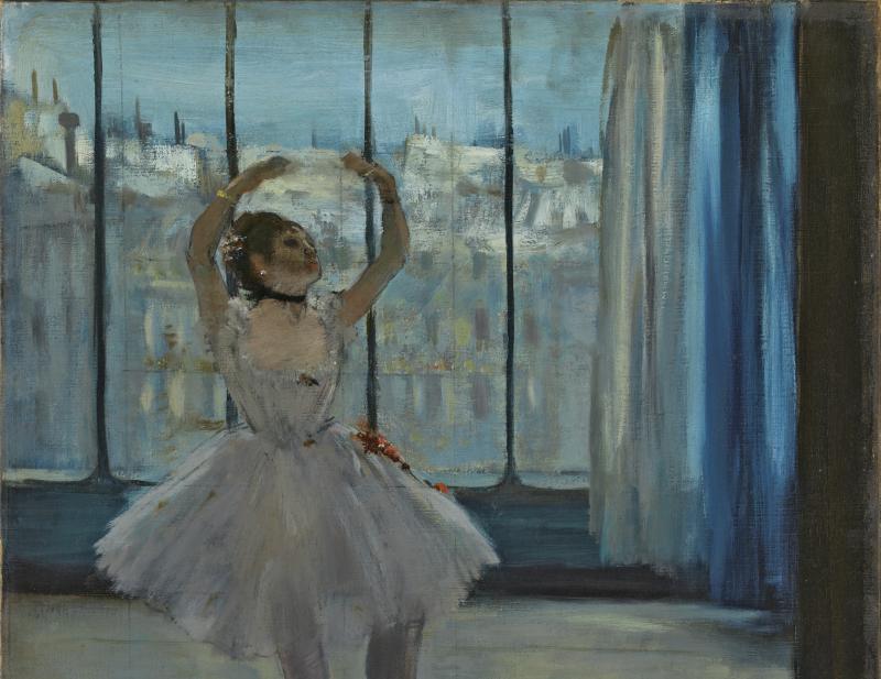 Edgar Degas - La Danseuse dans l'Atelier du Photographe