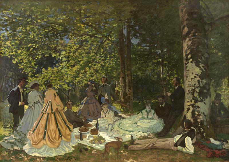 Claude Monet - Le Dejeuner sur l'Herbe