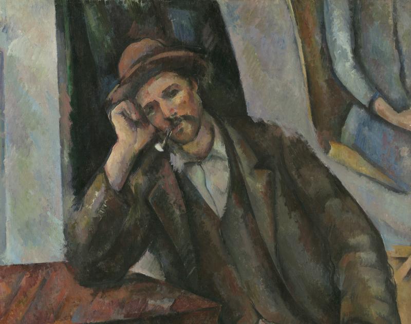 Paul Cezanne - L'homme a la Pipe
