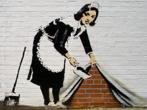 banksy femme de chambre