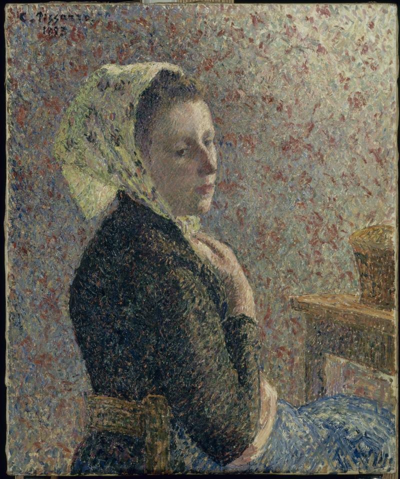 Pissarro Camille (1830-1903). Paris, musée d'Orsay. RF1972-30.
