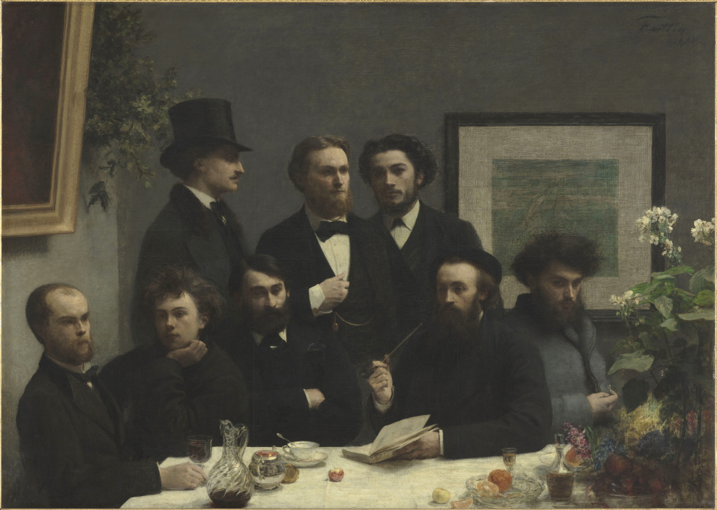 Fantin-Latour Ignace Henri Jean ThÈodore (1836-1904). Paris, musÈe d'Orsay. RF1959.