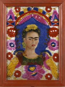 Kahlo Frida (1907-1954). Paris, Centre Pompidou - MusÈe national d'art moderne - Centre de crÈation industrielle. JP929P.