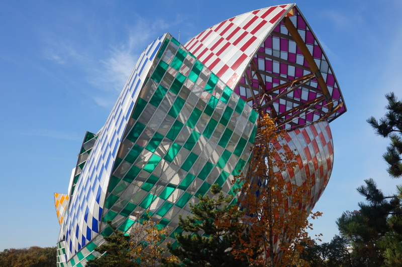 fondation vuitton buren chtchoukine