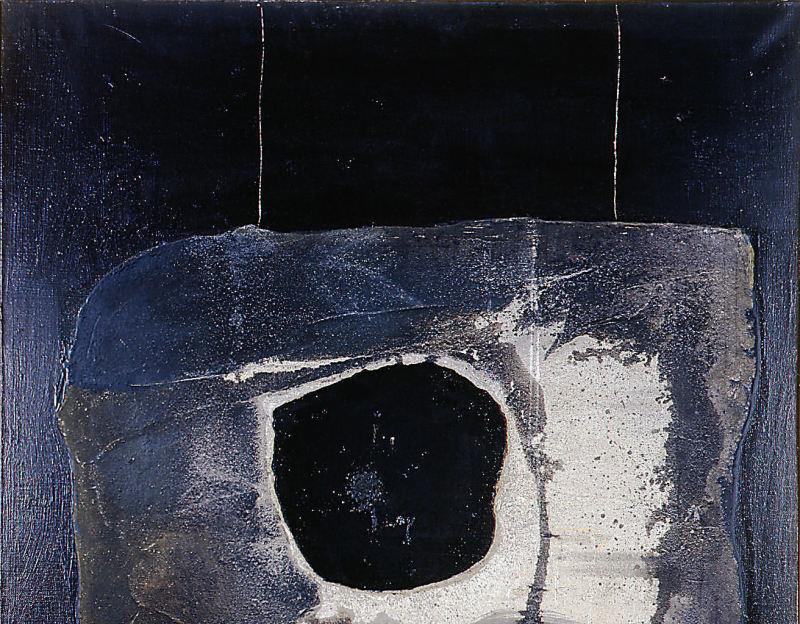 1961. Pierre de lune - Retrospective Bernard Rancillac - Musee de la poste