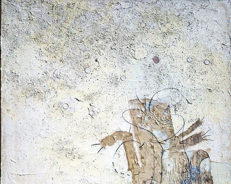 1962. Fantomas saute dans le vide - Retrospective Bernard Rancillac - Musee de la poste
