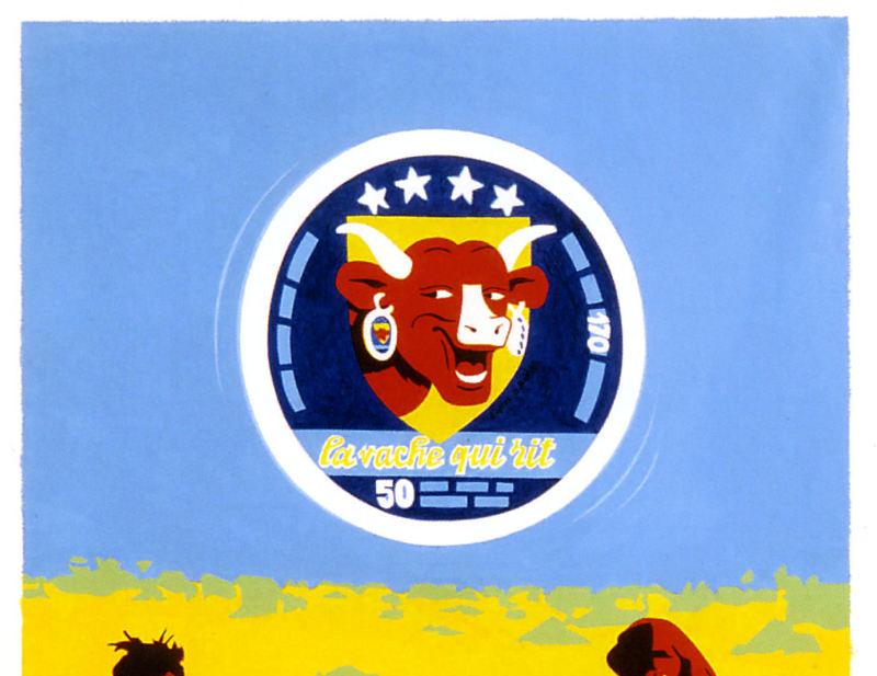 1972. Sainte Mère la Vache - Retrospective Bernard Rancillac - Musee de la poste