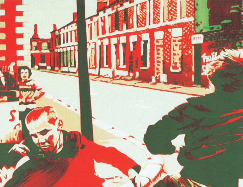 Belfast 1977 - Retrospective Bernard Rancillac - Musee de la poste