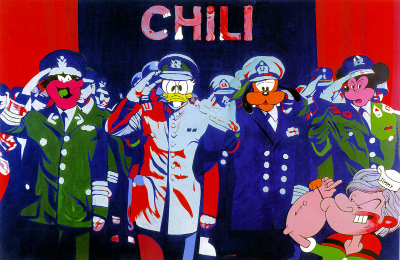 1977. Bloody Comics  - Retrospective Bernard Rancillac - Musee de la poste
