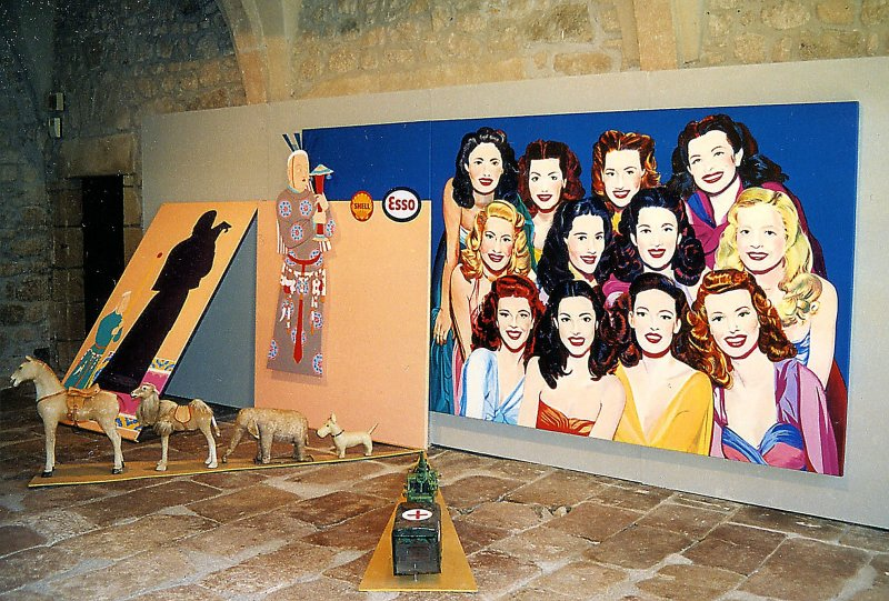 1991. Chemins du désert  - Retrospective Bernard Rancillac - Musee de la poste