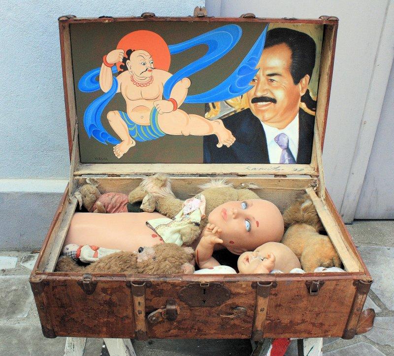 1992. La valise de Bagdad - Bernard Rancillac - Rétrospective à l'Espace Niemeyer