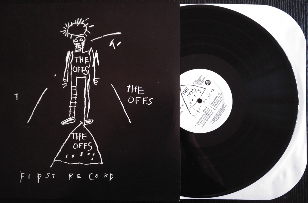 BASQUIAT _ THE OFFS First Record (black)