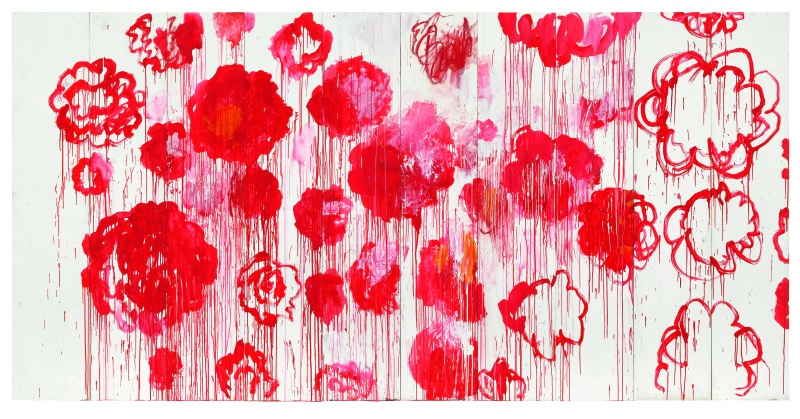 Cy twombly Blooming