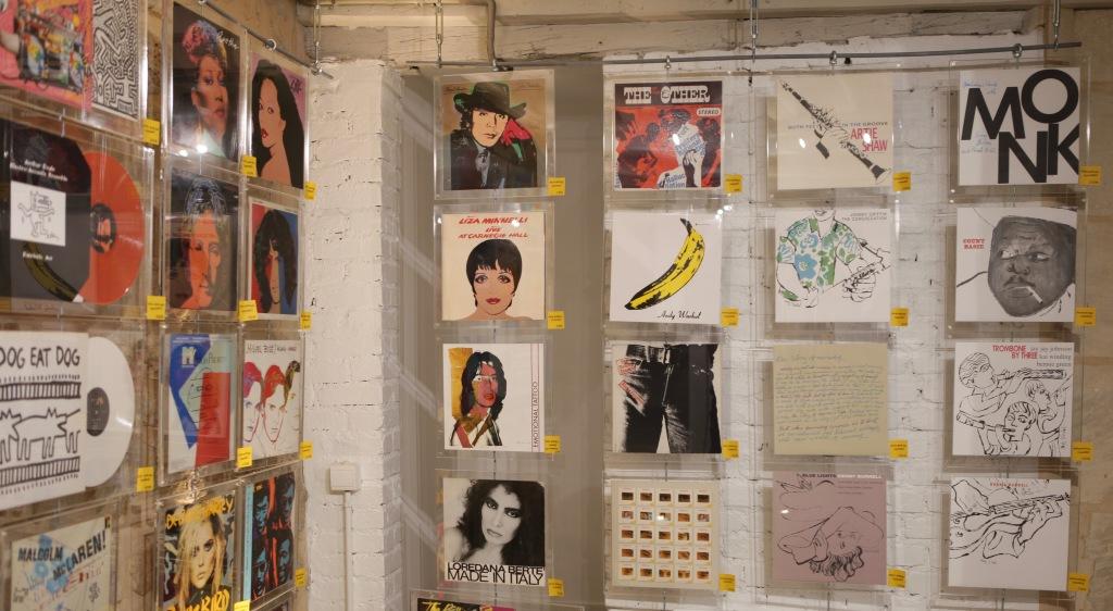 Pochettes en stock exposition au Loft du 34 - photo Nicolas Giquel 6