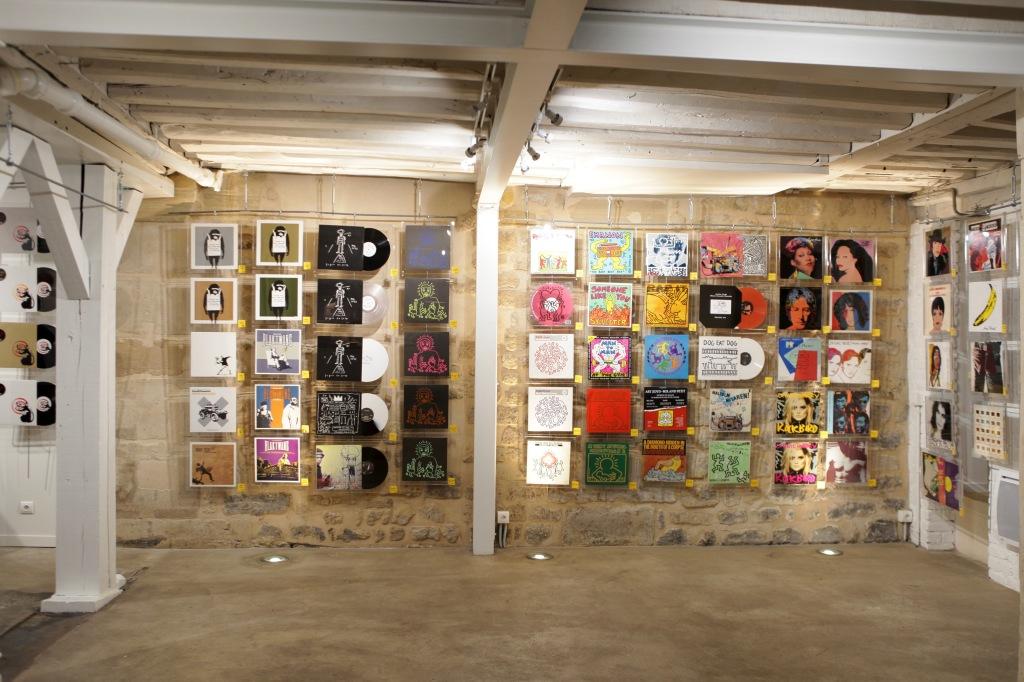 Pochettes en stock exposition au Loft du 34 - photo Nicolas Giquel 9
