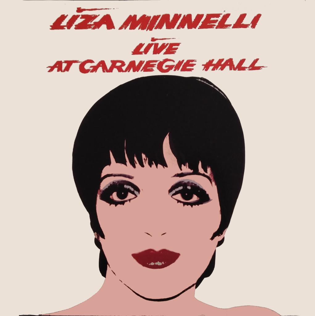 WARHOL - LIZA MINNELLI - Live at Carnegie Hall (1981)